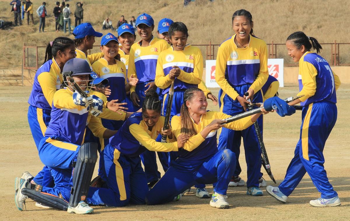 एपिएफलाई हराउँदै प्रदेश १ ले जित्यो प्रधानमन्त्री कप महिला राष्ट्रिय क्रिकेटको उपाधि