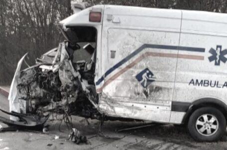 दूधे एम्बुलेन्स दुर्घटना : चालकको मृत्यु