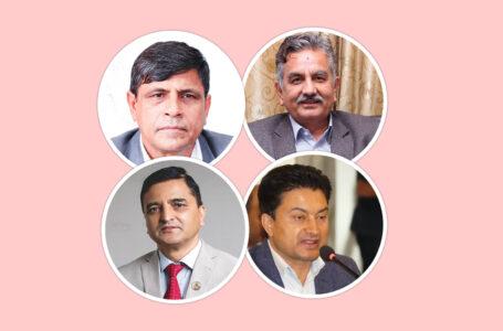 माधव समूह एमालेका चार नेता ओलीलाई मतदिने पक्षमा