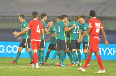 विश्वकप छनोट : अस्ट्रेलियासँग नेपाल ३-० ले पराजित