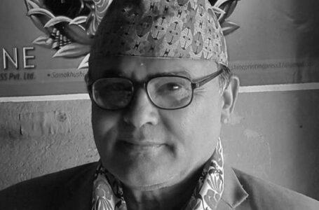रहेनन् अग्रज साहित्यकार रामप्रसाद उपाध्याय