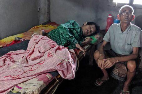 गरिबीको पिडा : गोपीले उपचार नपाँउदा ओच्छ्यानमै शरीर कुहिन थाल्यो (तस्विर सहित)
